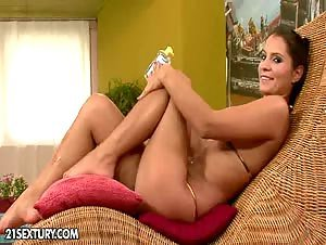 Lucy Belle is a really hot girl and when she puts on her...