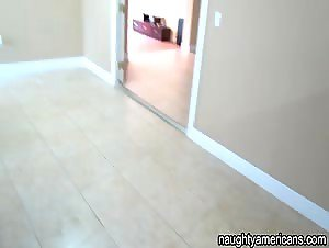 GF Nails Boyfriend In Dad's Empty Rental Property!
