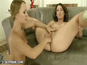 Blue Angel laid her eyes on Yvette for quite a time now,...
