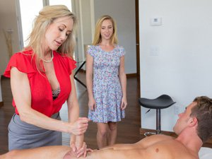 MILF Brandi seduces Whitneys boyfriend
