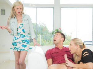 Hot mom Angel lusts for a younger guy