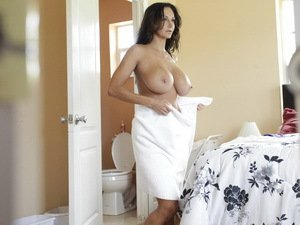 Ava Addams fucked by 2 amateurs