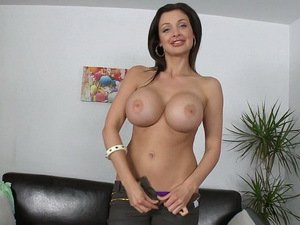 Aletta Ocean gives great head