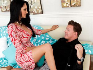 Ava Addams gives head and rides cock