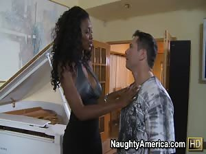 Nyomi Banxxx gets fucked hard by a married man