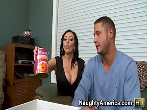 Hot Milf Alia Janine gets fucked hard by her son`s friend.
