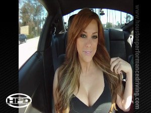Gisele in a Mustang Turbo - Part 2