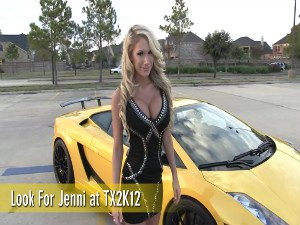 Sexy Jenni in a 1250whp Underground Racing Lamborghini - Part 2