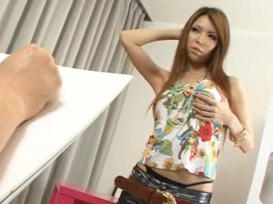 Asukarino plays with her pussy and sticks little toys inside of her