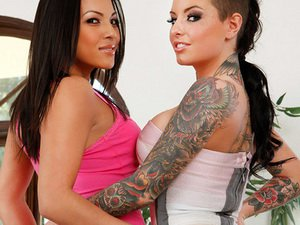 Adrianna Luna and Christy Mack - 2 Chicks Same Time