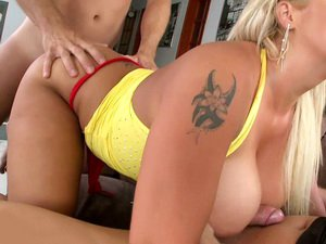 Chintia Flower double penetrated