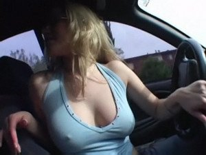 Blonde stunner Shawnie fucked hard and swallows a mouthful