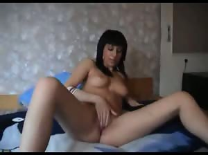 Steaming hot Hungarian brunette fucked in the ass