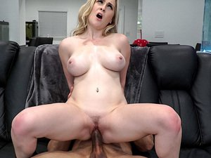 Busty Newbie Fucks For A Facial