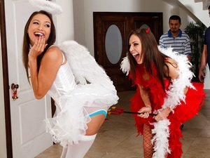 Celeste Star and Gracie Glam - Lesbian Girl on Girl