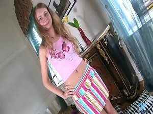 Jule is a sweet Russian teen