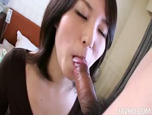 Big dick spears Sakura Anna's tight pussy