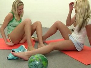 Lesbian teens having fun