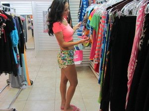 Awesome Latina shopping