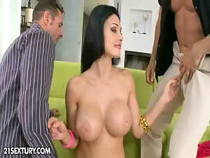 Aletta Ocean was having her beauty time at home when...