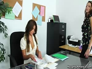 Charmane Star and Kiera Winters - Naughty Office
