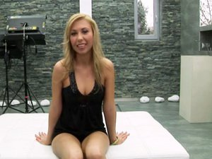 Interview with very hot blonde Nastie