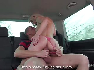 Carseat Cheating wife fucks a stranger