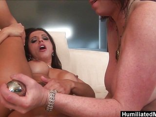 Milfs Francesca and Kylie hunger for each others pussy