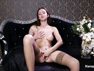 Releena Ruley Hot Cute Teen Fingers Herself