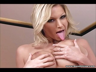 Big Tits Carol Gold Solo Masturbation