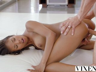 VIXEN Teen Fucks Her Best Friends Dad