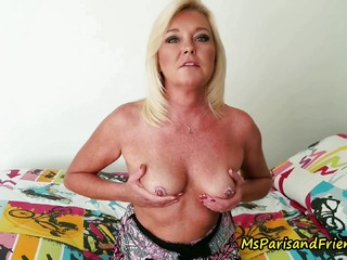 Kinky Mommy Is Glad to Get You Off