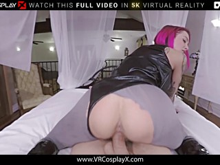 VRCosplayX Babe Turns Into Cock thirsty Monster