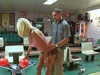 Horny Puma Swede bowls a strike with this dick