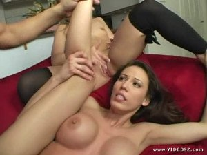 Multiple chicks on one dick 2 scene 3